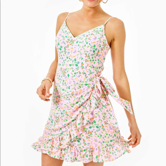 Lilly Pulitzer Dresses & Skirts - Lilly Pulitzer Alisa Wrap Dress